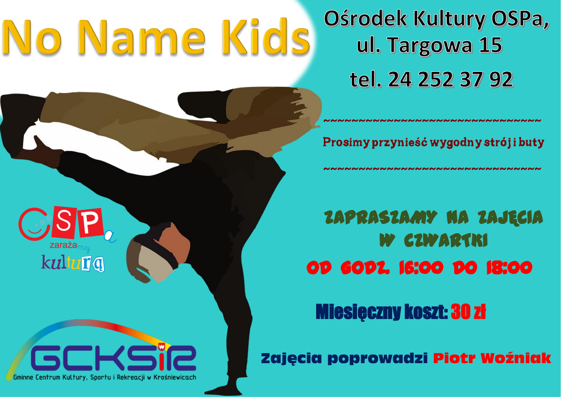 plakat no name kids 1
